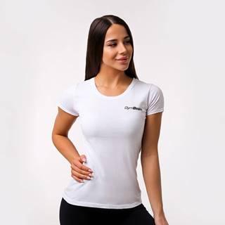 GymBeam Dámske tričko Basic White  L