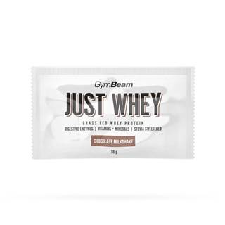 GymBeam Vzorka Just Whey 30 g čokoládový milkshake