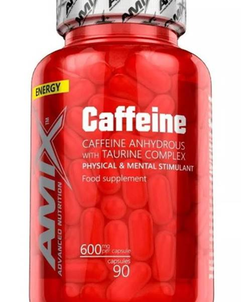 Amix Nutrition Amix Caffeine with Taurine 90 kapsúl