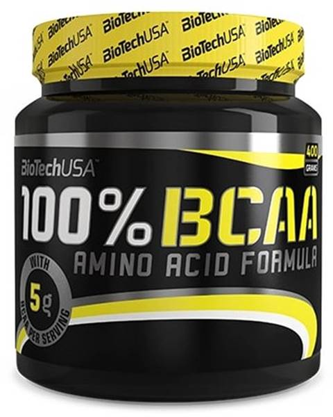 Biotech USA Biotech 100 % BCAA 400 g