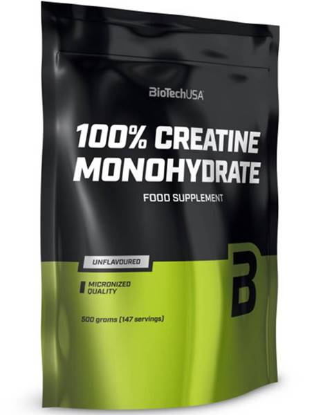 Biotech USA Biotech 100 % Creatine Monohydrate sáčok 500 g