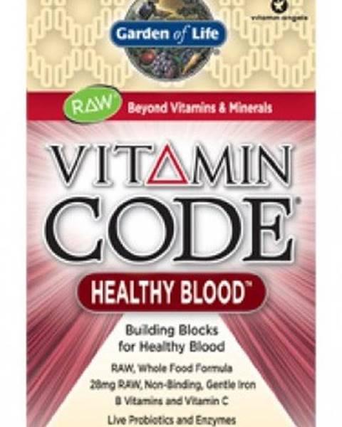Garden of life Garden Of Life Vitamín Healthy Blood Raw 60 kapsúl