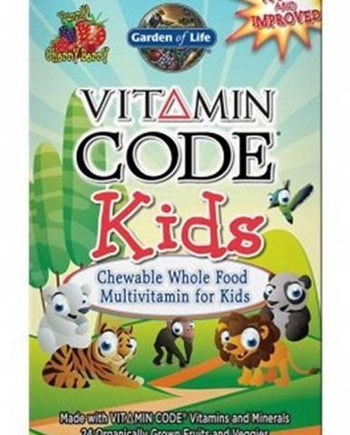 Garden Of Life Vitamín Code Kids 60 tabliet