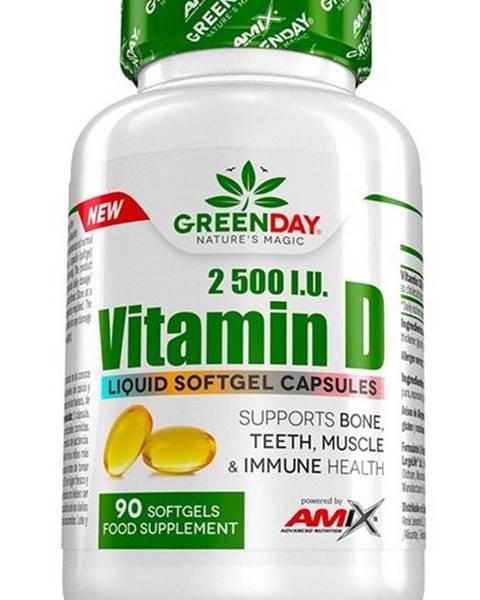 Amix Nutrition Amix Vitamín D 2500 I.U. 90 kapsúl
