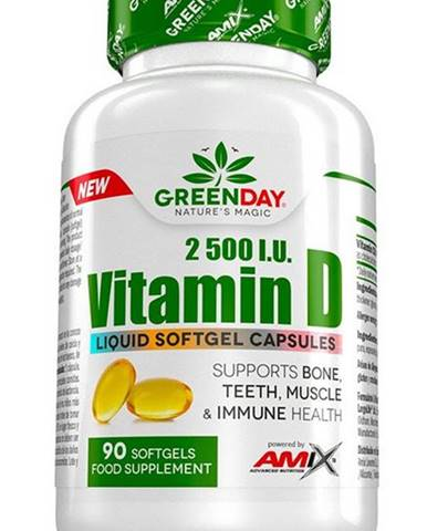 Amix Vitamín D 2500 I.U. 90 kapsúl