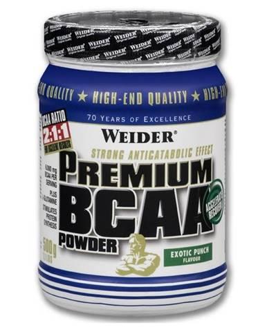 Weider Premium BCAA Powder 500 g variant: exotický punč