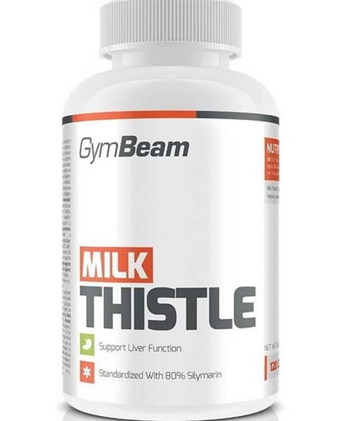 GymBeam Milk Thistle: Pestrec mariánsky - GymBeam 120 kaps.