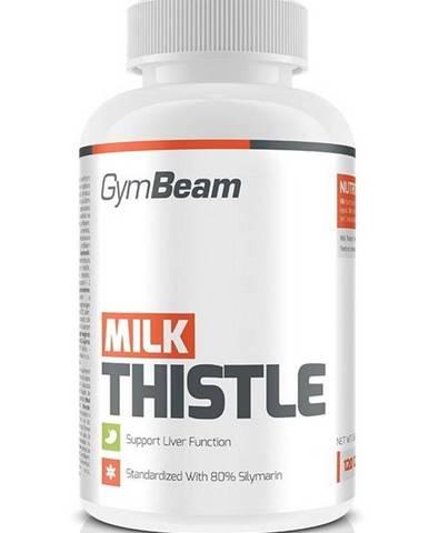 Milk Thistle: Pestrec mariánsky - GymBeam 120 kaps.