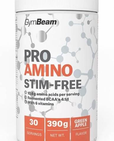 Pro Amino Stim-Free - GymBeam 390 g Green Apple