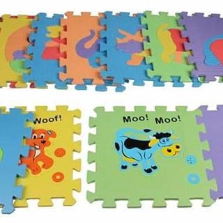 pěnové puzzle Zvířátka