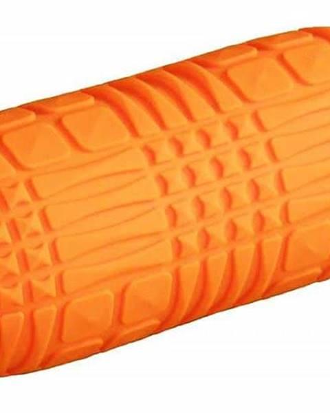 Sedco Masážní yoga váleček Sedco 30x18 cm oranžový - Oranžová