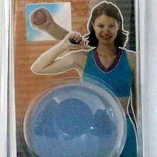 Posilovač dlaní - míček