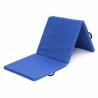 Žíněnka skládací třídílná SEDCO 180x60x5 cm - sv.modrá