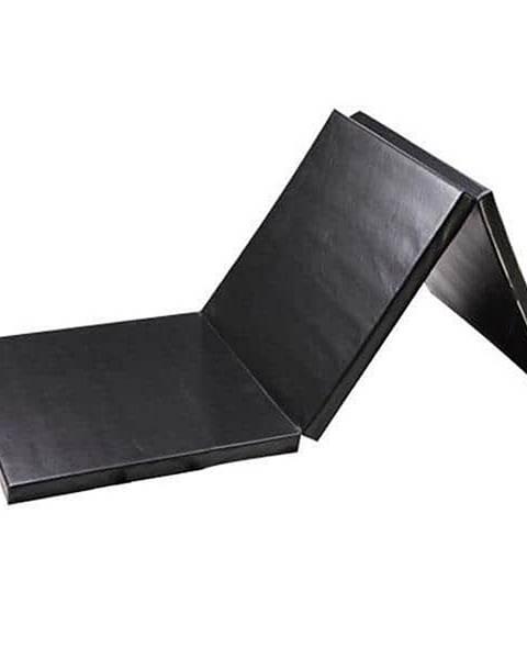 Sedco Žíněnka skládací třídílná SEDCO 180x90x5 cm - Černá