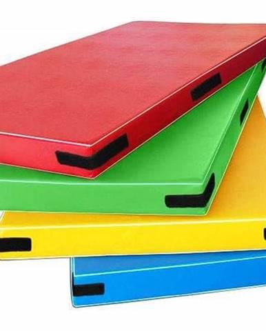 Žíněnka STANDARD Light 200x100x5 cm červená - Žlutá