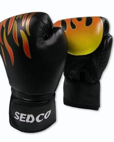 Box rukavice SEDCO TRAINING FIRE 14 OZ - Černé