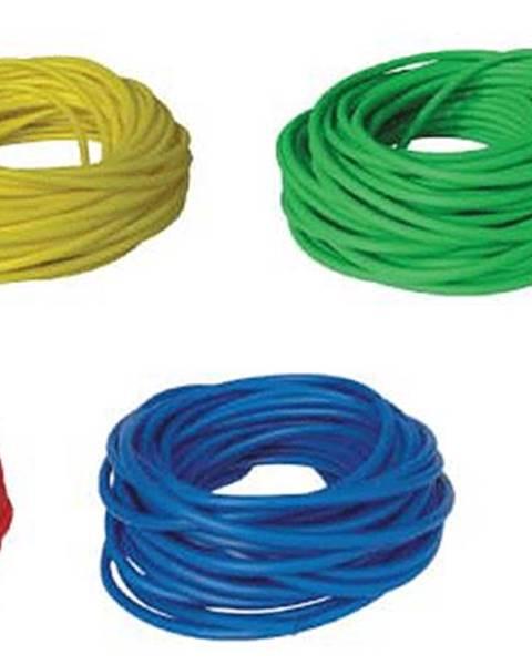 LivePro BAND TUBING - Odporová posilovací guma - LATEX FREE - 1 m - Žlutá