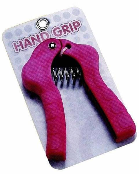 Sedco Posilovač prstů HAND GRIP 2702 - růžová