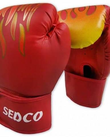 Box rukavice SEDCO TRAINING FIRE 14 OZ - Červené
