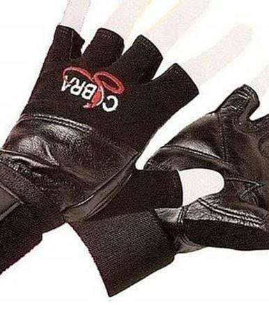 Rukavice Fitness EFFEA COBRA kůže - L - XL