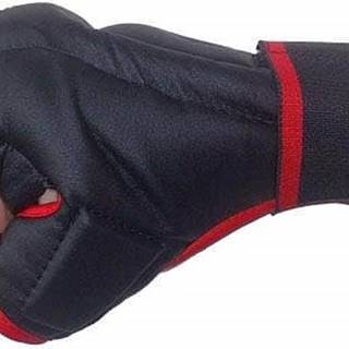 Rukavice Kung-fu PU597 EFFEA velikost L, M, S, XL červeno/černé - Velikost S