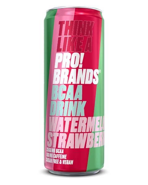 PRO!BRANDS ProBrands BCAA Drink 330 ml malina