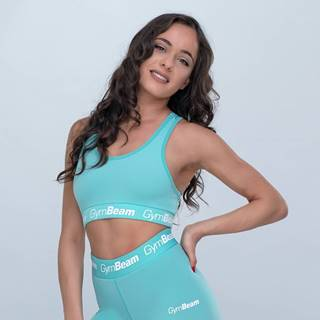 GymBeam Športová podprsenka Simple Turquoise  L