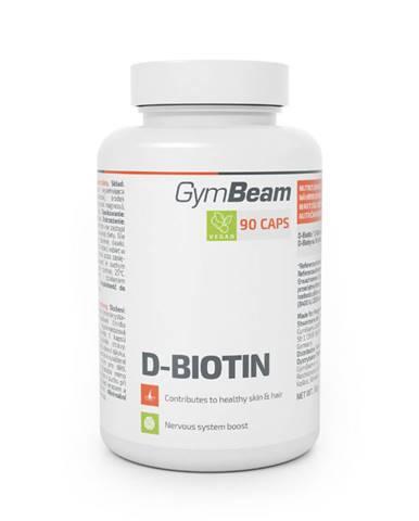 GymBeam D-Biotín 90 kaps.