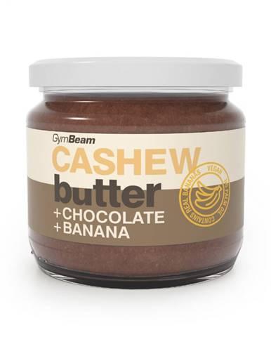 GymBeam Kešu maslo s čokoládou a banánom 340 g
