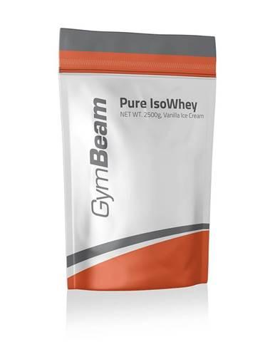 GymBeam Pure IsoWhey 2500 g vanilková zmrzlina