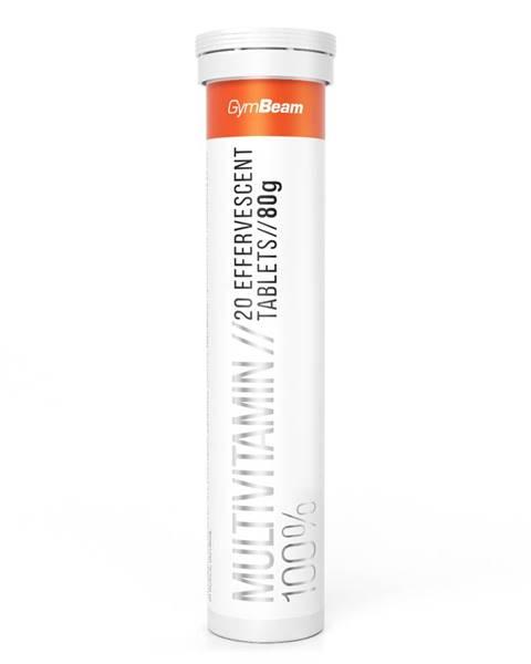 GymBeam GymBeam Multivitamín 100% 20 tab. pomaranč