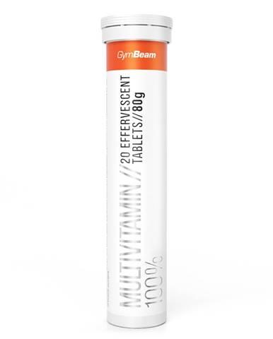 GymBeam Multivitamín 100% 20 tab. pomaranč