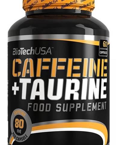 Biotech Caffeine + Taurín 60 kapsúl