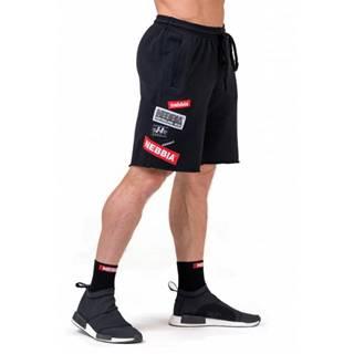 Pánske šortky Nebbia Limitless BOYS shorts 178 Black - M