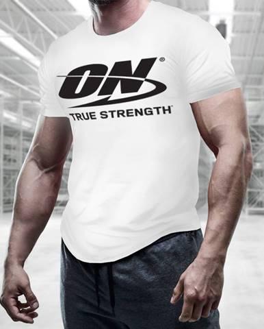 Optimum Nutrition Men´s T-shirt True Strength White  S