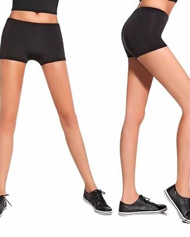 Bas Bleu Fitness šortky Forcefit 30 black - černá Veľkosť L