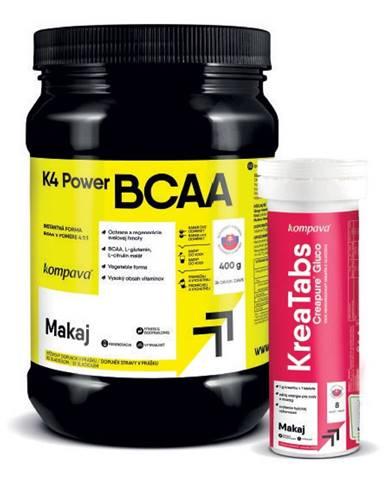 K4 Power BCAA 4:1:1 - Kompava 400 g Grep+Limetka