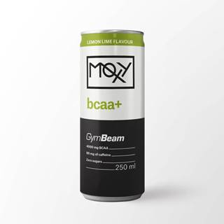 GymBeam Moxy BCAA+ energy Drink 250 ml citrón limetka