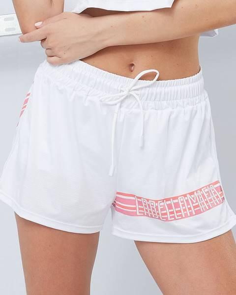 LABELLAMAFIA LABELLAMAFIA Dámske šortky Sporty Floral White  S