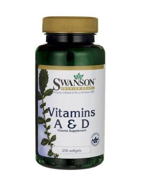Swanson Swanson Vitamín A & D 250 kaps.