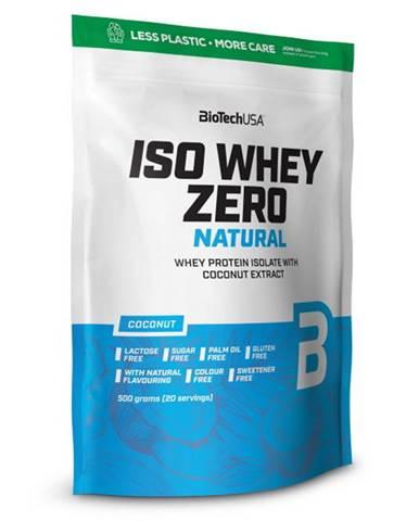 BioTech USA BioTech Iso Whey Zero Natural 500 g variant: kokos