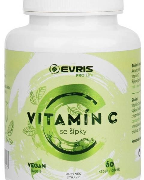 Evris Evris Vitamín C so šípkami 60 kapsúl
