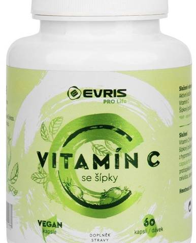 Evris Vitamín C so šípkami 60 kapsúl