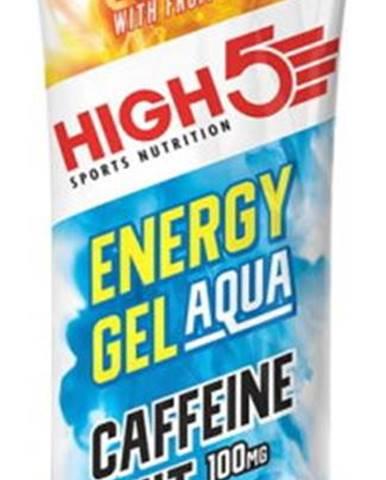 High5 Energy Gel Aqua Caffeine Hit 66 g variant: tropické ovocie