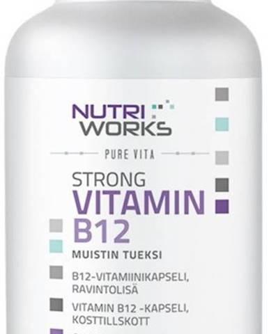 NutriWorks Strong Vitamín B12 90 kapsúl