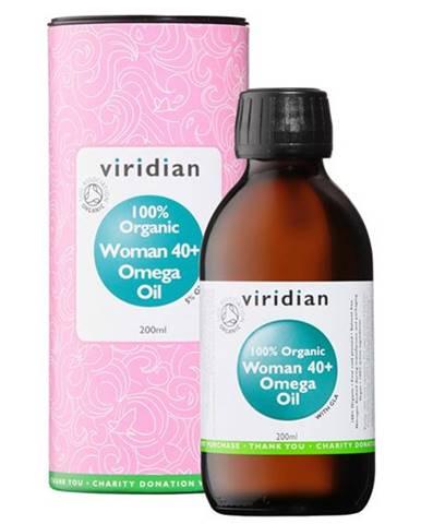 Viridian Woman 40+ Omega Oil Organic 200 ml