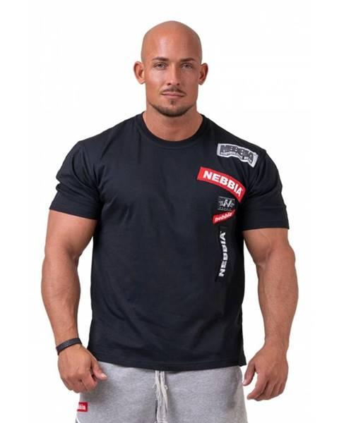 Nebbia Pánske tričko Nebbia Limitless BOYS 171 Black - M