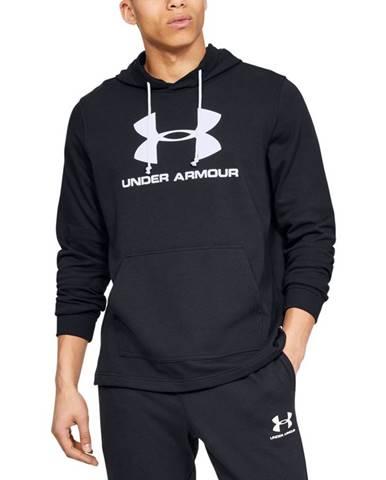 Pánska mikina Under Armour Sportstyle Terry Logo Hoodie Black - M