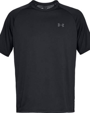 Pánske tričko Under Armour Tech SS Tee 2.0 Black/Graphite - S