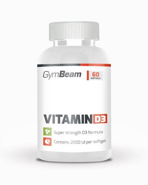 GymBeam GymBeam Vitamin D3 2000 IU 60 kaps.